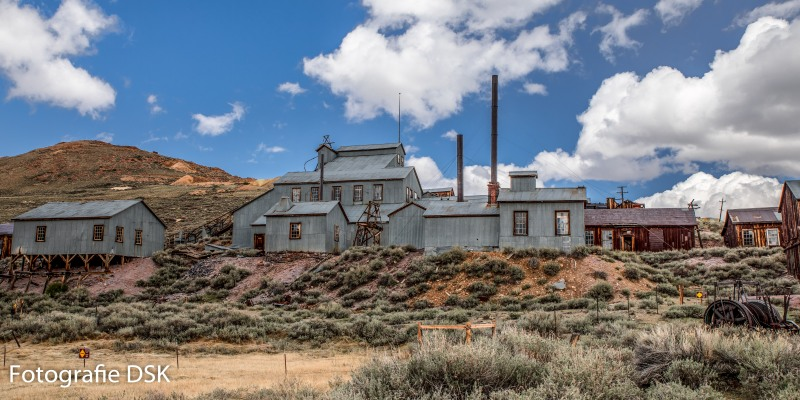 The Old Mill - Die alte Mühle - in Bodie California