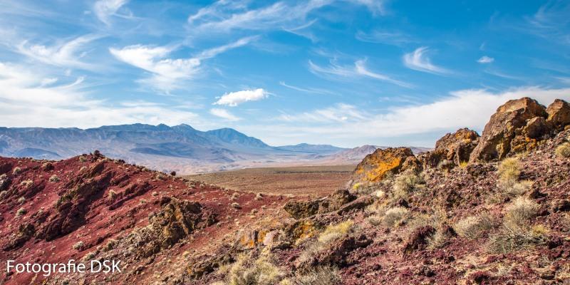 Death Valley California - Tal des Todes -Kalifornien - Farbige Landschaft