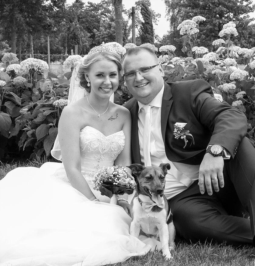 Fotografie DSK Hochzeitskunde mit Hund