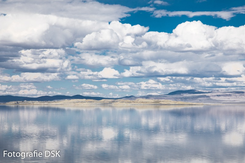 Mono Lake Mirror of the Sky - Mono See als Spiegel des Himmels