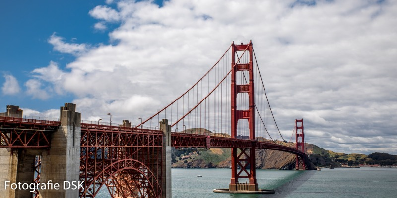 Golden Gate Bridge in San Francisco - Panorama